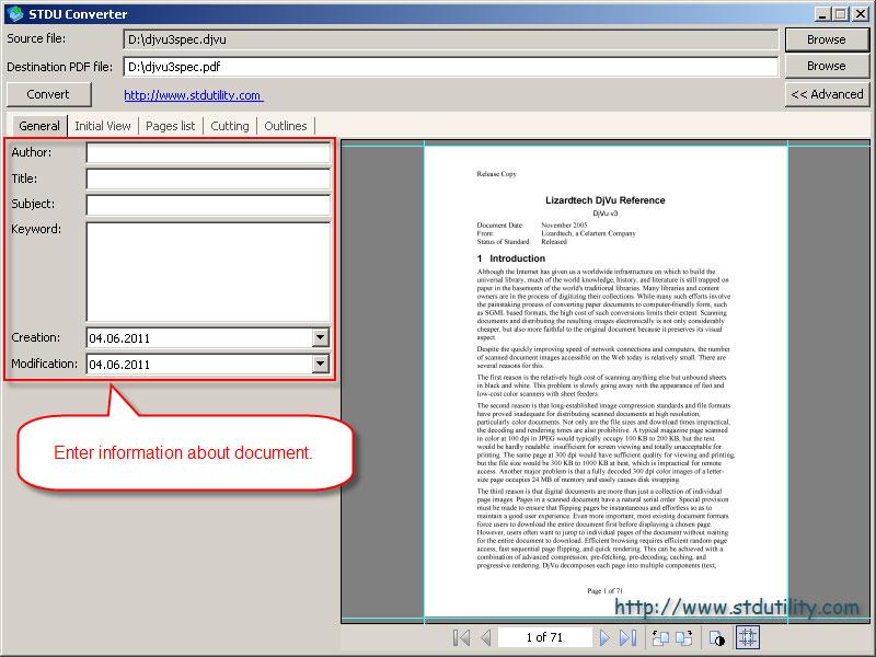 djvu file to pdf converter software free